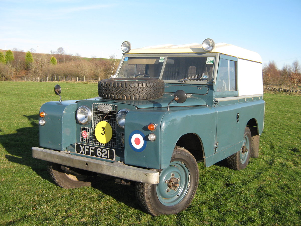 1959 Land Rover Ex RAF  For Sale (picture 6 of 6)