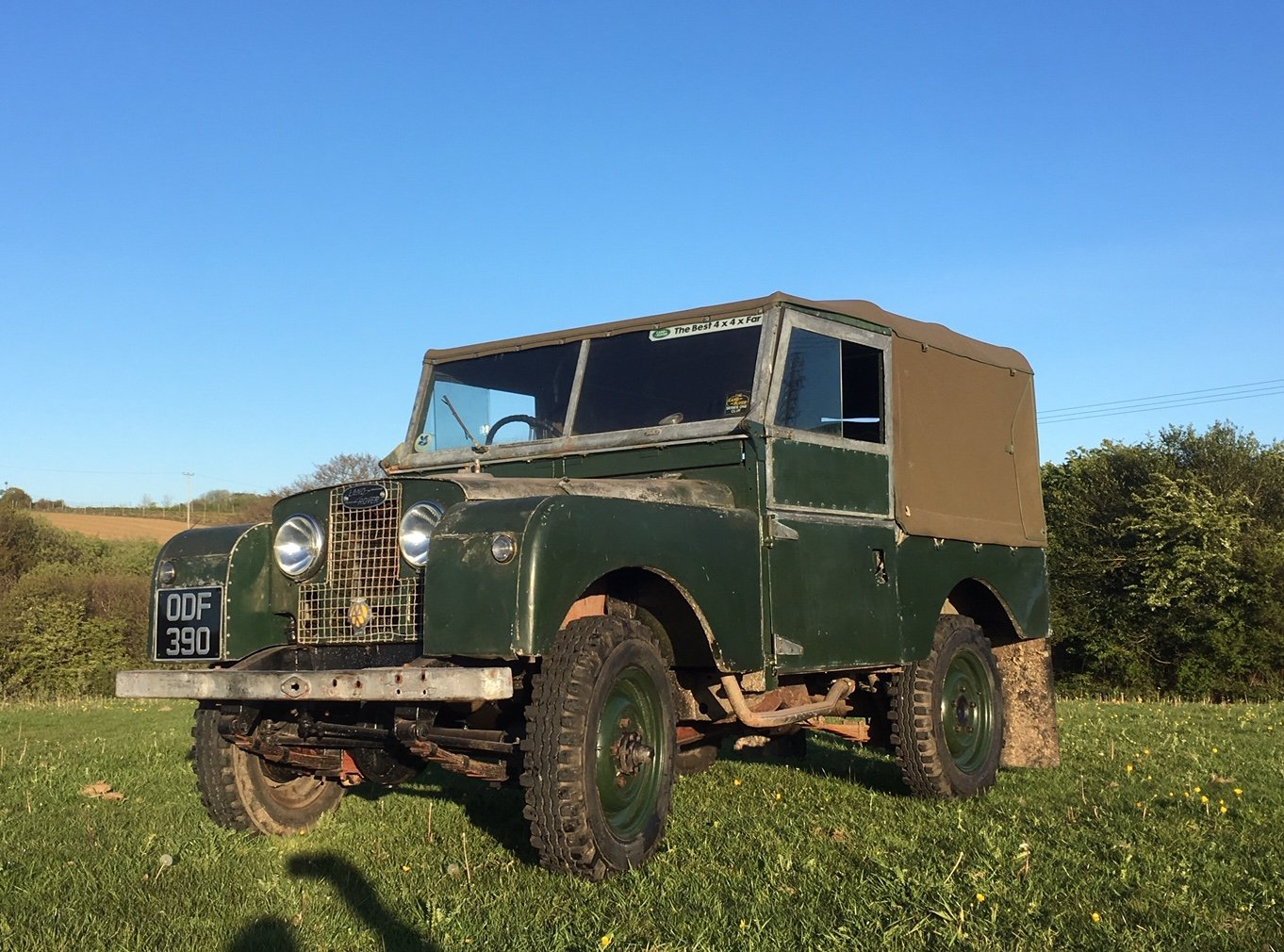 Land Rover Series 1 1957 86