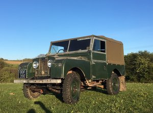 "Land Rover Series 1 1957 86"" For Sale"