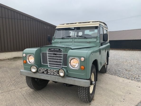 1972 Land Rover® Series 3 *Galvanised Chassis Station Wagon* (OPG SOLD (picture 1 of 6)
