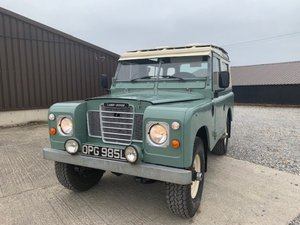 1972 Land Rover® Series 3 *Galvanised Chassis Station Wagon* (OPG For Sale