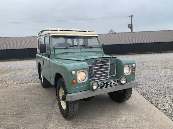 1972 Land Rover® Series 3 *Galvanised Chassis Station Wagon* (OPG SOLD (picture 2 of 6)