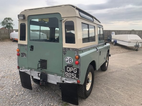 1972 Land Rover® Series 3 *Galvanised Chassis Station Wagon* (OPG SOLD (picture 3 of 6)