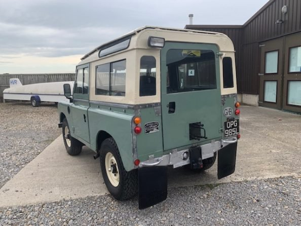 1972 Land Rover® Series 3 *Galvanised Chassis Station Wagon* (OPG SOLD (picture 4 of 6)