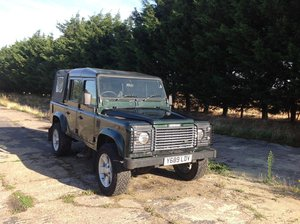 2001 Land Rover Defender 110 DCPU Green For Sale