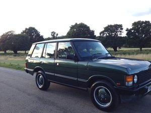 1994 Land Rover Range Rover Vogue SE Classic Soft Dash For Sale