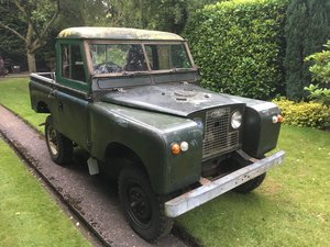 Land Rover Series 2A SWB For Restoration For Sale