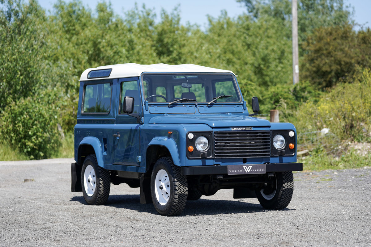 1987 Land Rover 90 Factory V8 Station Wagon 42,000 Miles From New For Sale (picture 1 of 6)