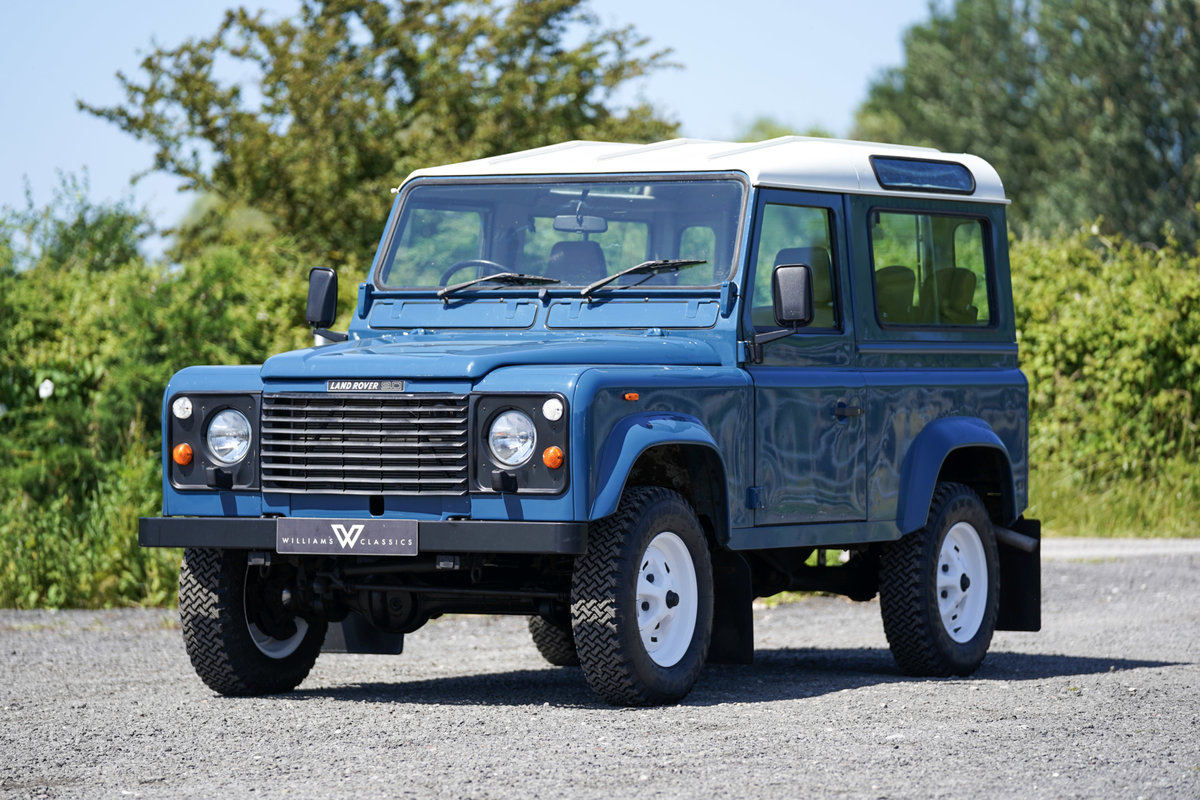 1987 Land Rover 90 Factory V8 Station Wagon 42,000 Miles From New For Sale (picture 2 of 6)
