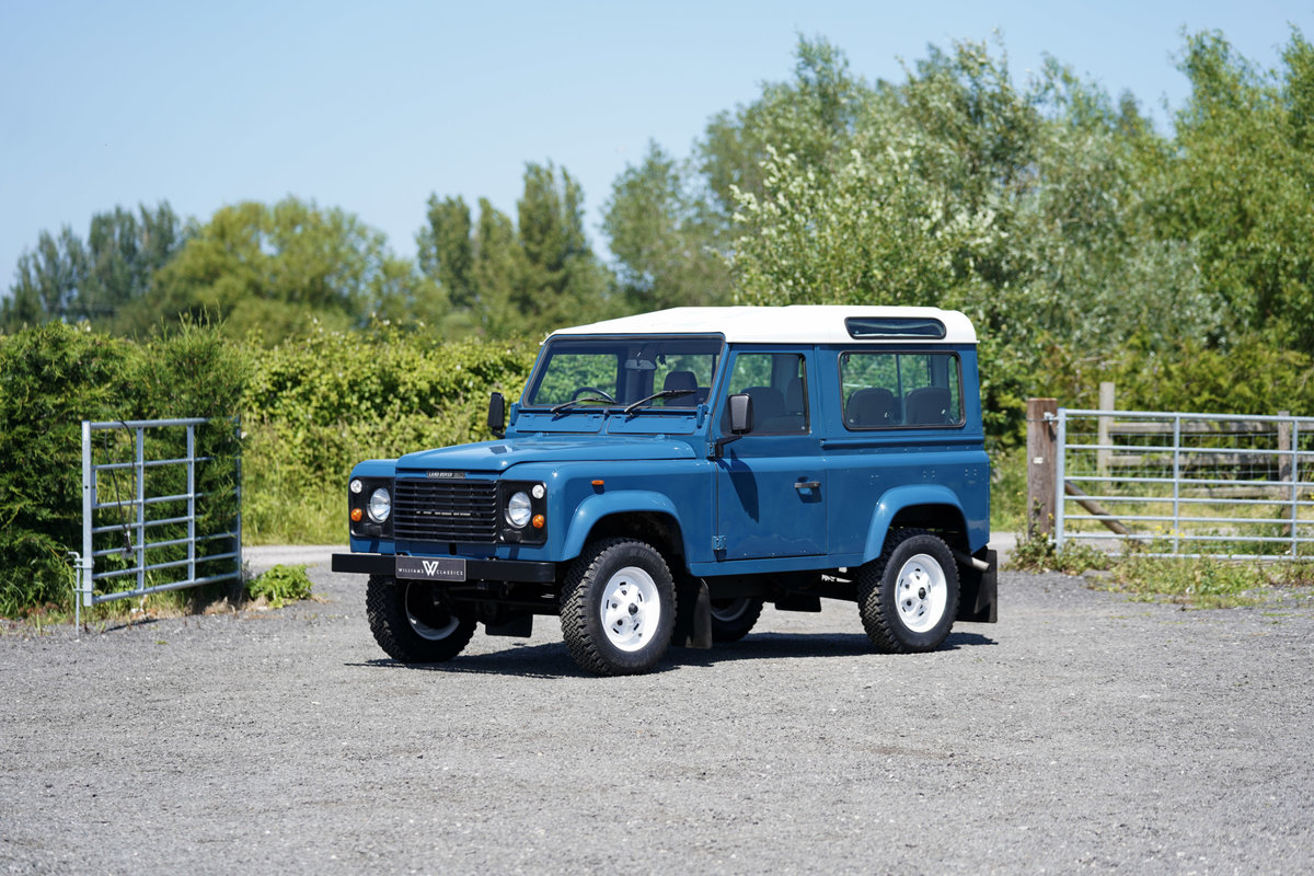 1987 Land Rover 90 Factory V8 Station Wagon 42,000 Miles From New For Sale (picture 4 of 6)