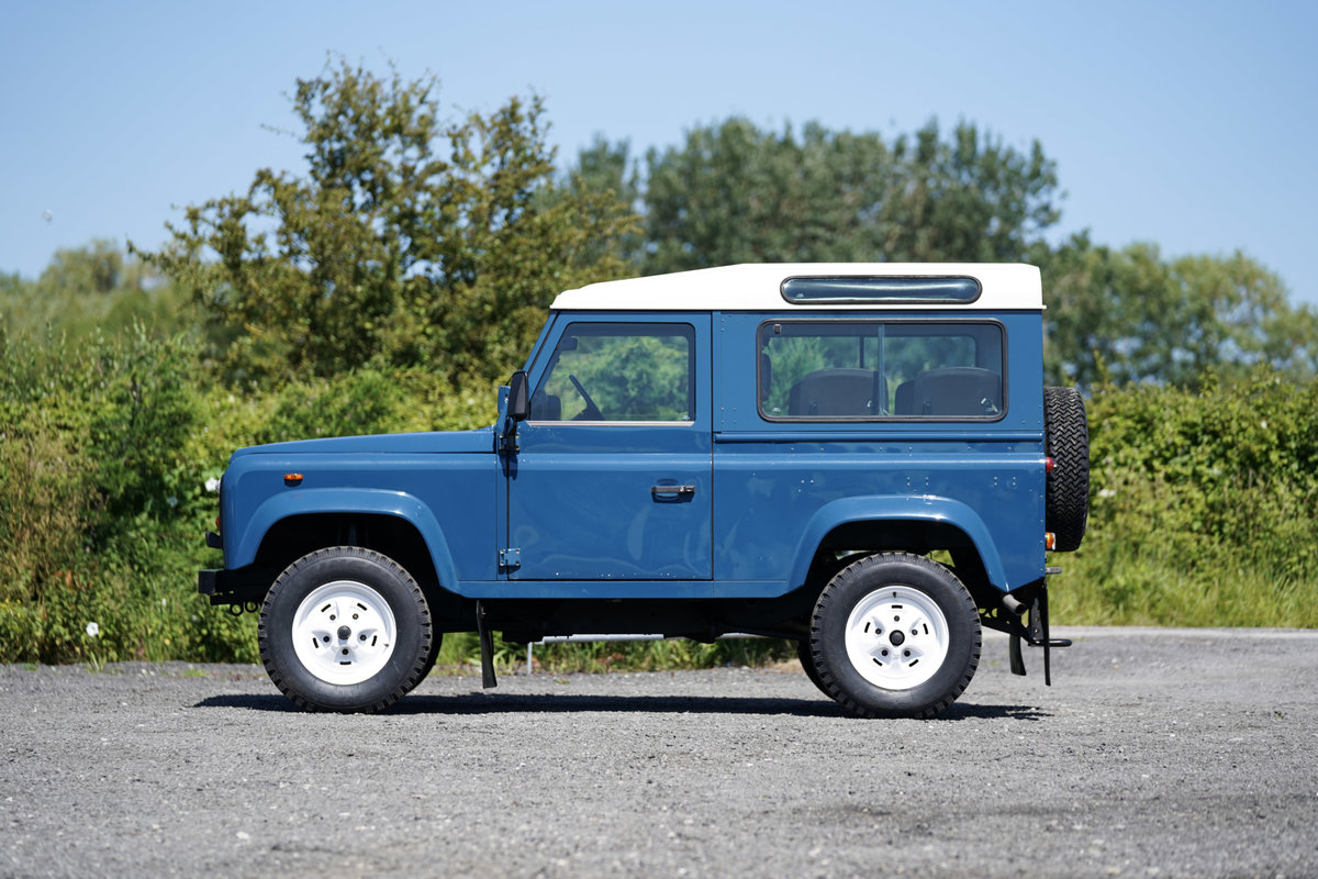 1987 Land Rover 90 Factory V8 Station Wagon 42,000 Miles From New For Sale (picture 5 of 6)