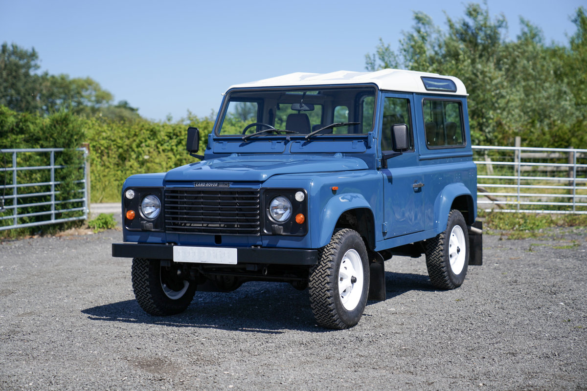 1987 Land Rover 90 Factory V8 Station Wagon 42,000 Miles From New For Sale (picture 6 of 6)