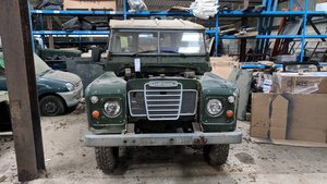 1979 Land Rover Series 3 Green For Sale