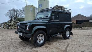 2011 Land Rover Defender 90 Hardtop TDCi 2.2 Green For Sale
