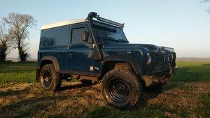 2005 Land Rover Defender 90 Van Imperial Blue For Sale