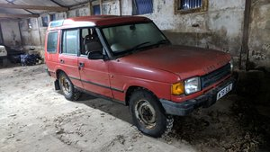 1995 Land Rover Discovery TDi Red For Sale