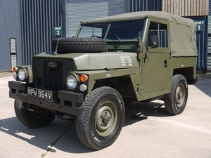 1980 Land Rover Series III Lightweight - Military Classic! For Sale