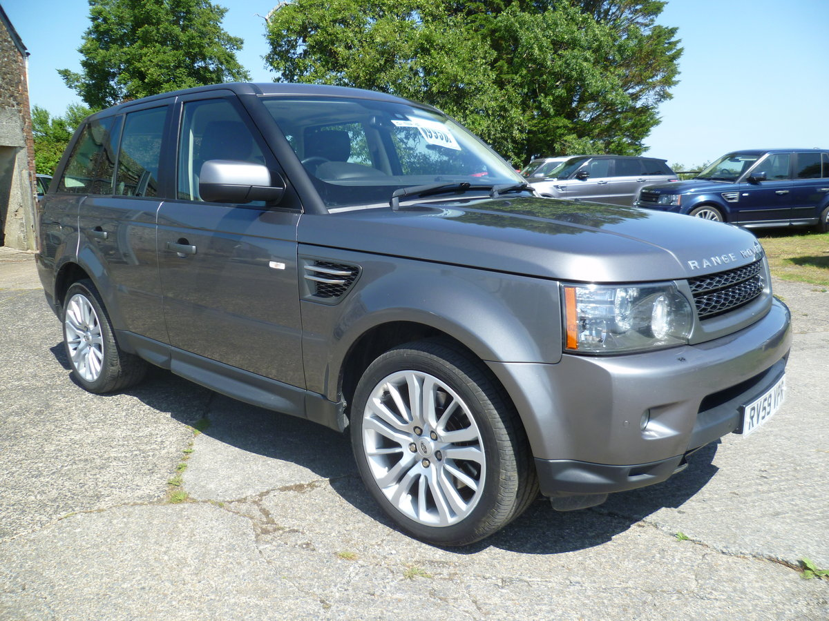 2009 Range Rover Sport 3.0l HSE TDV6 For Sale (picture 1 of 6)