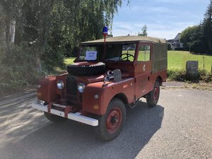 1955 A Very Rare Land Rover in Exceptional Condition