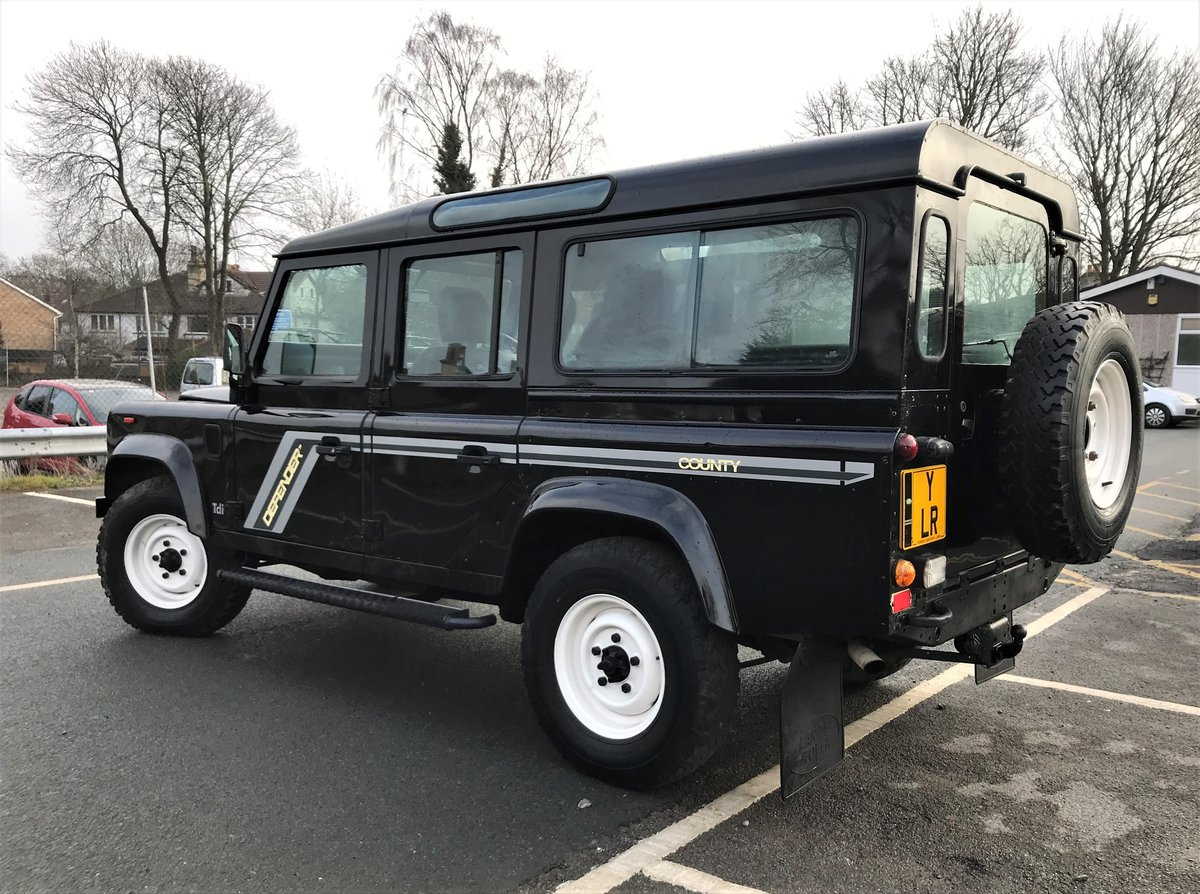 1993 DEFENDER 110 COUNTY SW 200 Tdi *USA EXPORTABLE* STUNNING  For Sale (picture 2 of 6)