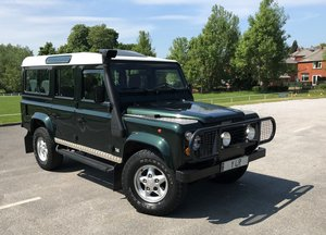 1997 Defender 110 County SW 300 Tdi **FACTORY LEFT HAND DRIVE** For Sale