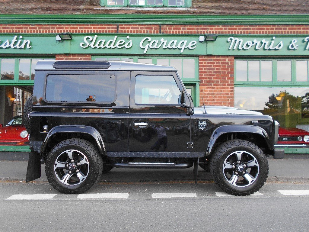 2015 Land Rover Defender 90 TD Overfinch SOLD (picture 1 of 4)