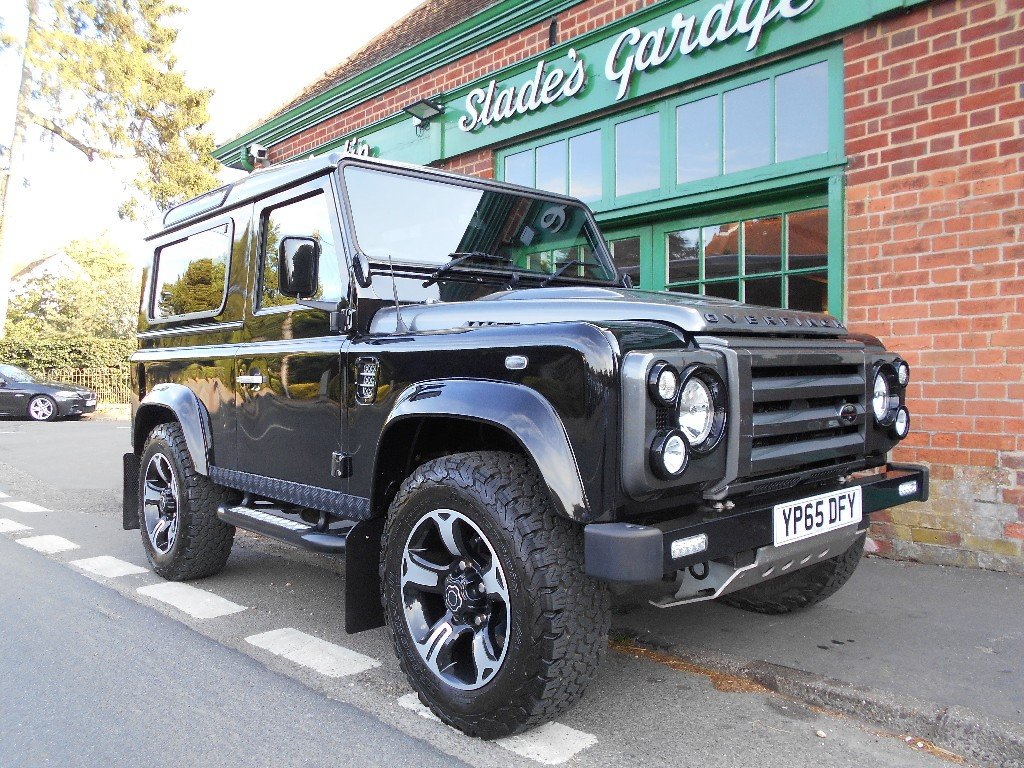 2015 Land Rover Defender 90 TD Overfinch SOLD (picture 2 of 4)