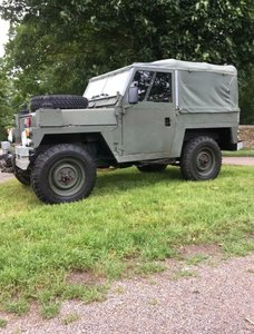 1984 Land Rover, series three, lightweight 88, FFR
