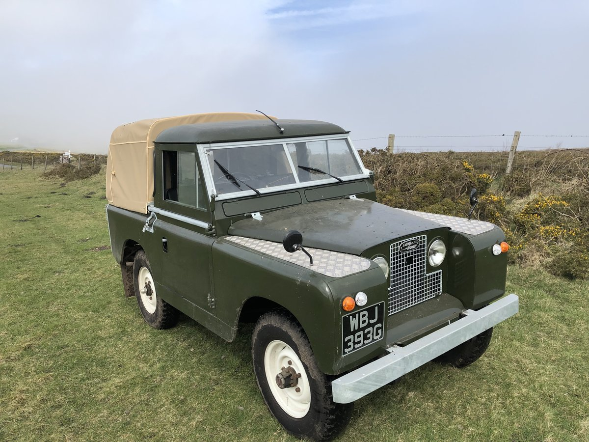 1969 Land Rover Series 2a SWB pickup with Tilt SOLD (picture 1 of 6)