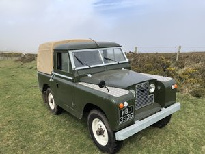 1969 Land Rover Series 2a SWB pickup with Tilt SOLD