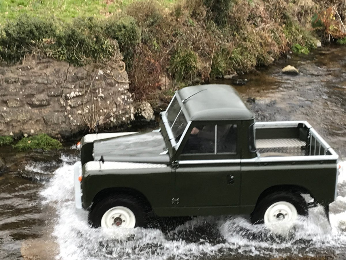 1969 Land Rover Series 2a SWB pickup with Tilt SOLD (picture 2 of 6)