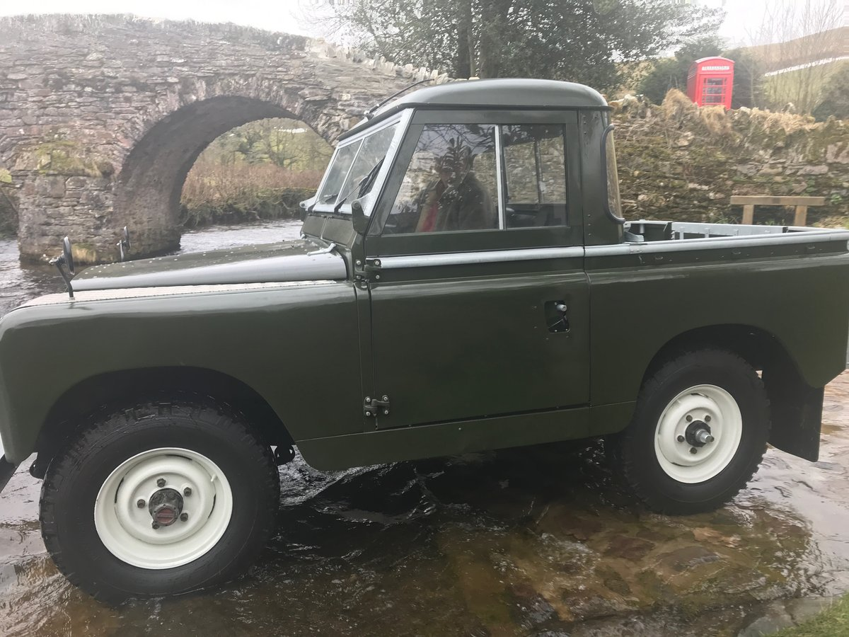 1969 Land Rover Series 2a SWB pickup with Tilt SOLD (picture 3 of 6)