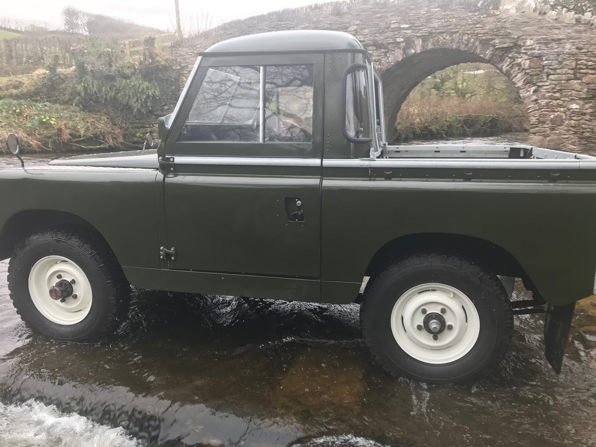 1969 Land Rover Series 2a SWB pickup with Tilt SOLD (picture 4 of 6)