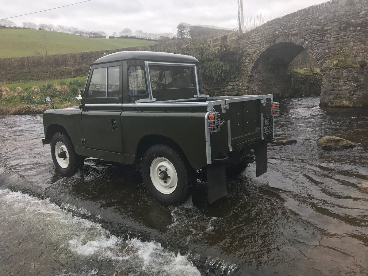 1969 Land Rover Series 2a SWB pickup with Tilt SOLD (picture 5 of 6)