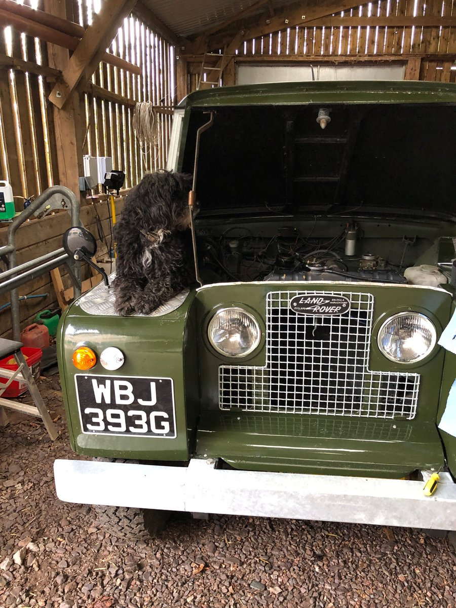 1969 Land Rover Series 2a SWB pickup with Tilt SOLD (picture 6 of 6)