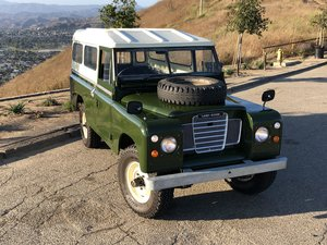 1973 Land Rover Long Wheelbase Utility For Sale
