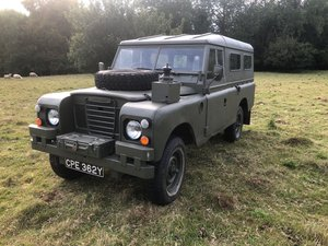 1982 Land Rover Series 3 Ex Military  For Sale