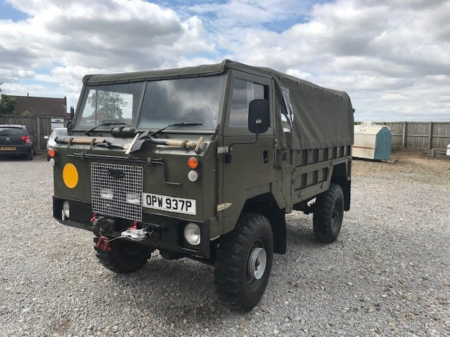 1976 Land Rover® 101 Forward Control RESERVED SOLD (picture 1 of 6)