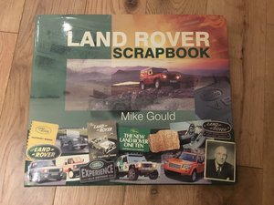 Land Rover Scrapbook For Sale