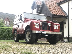 1981 Land Rover SWB Tdi Series 3 For Sale