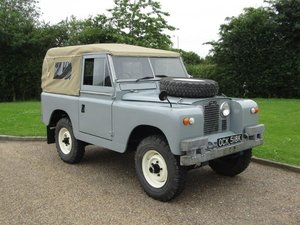 "1963 Land Rover 88"" Series IIA NO RESERVE at ACA 24thAugust  For Sale"