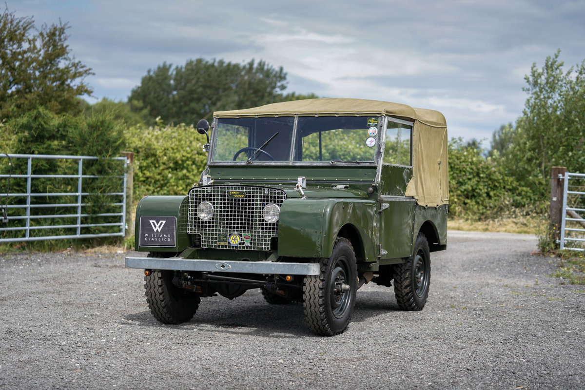 Land Rover Series 1 80 1950 Lights Behind the Grille  For Sale (picture 1 of 6)