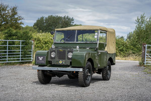 Land Rover Series 1 80 1950 Lights Behind the Grille  For Sale