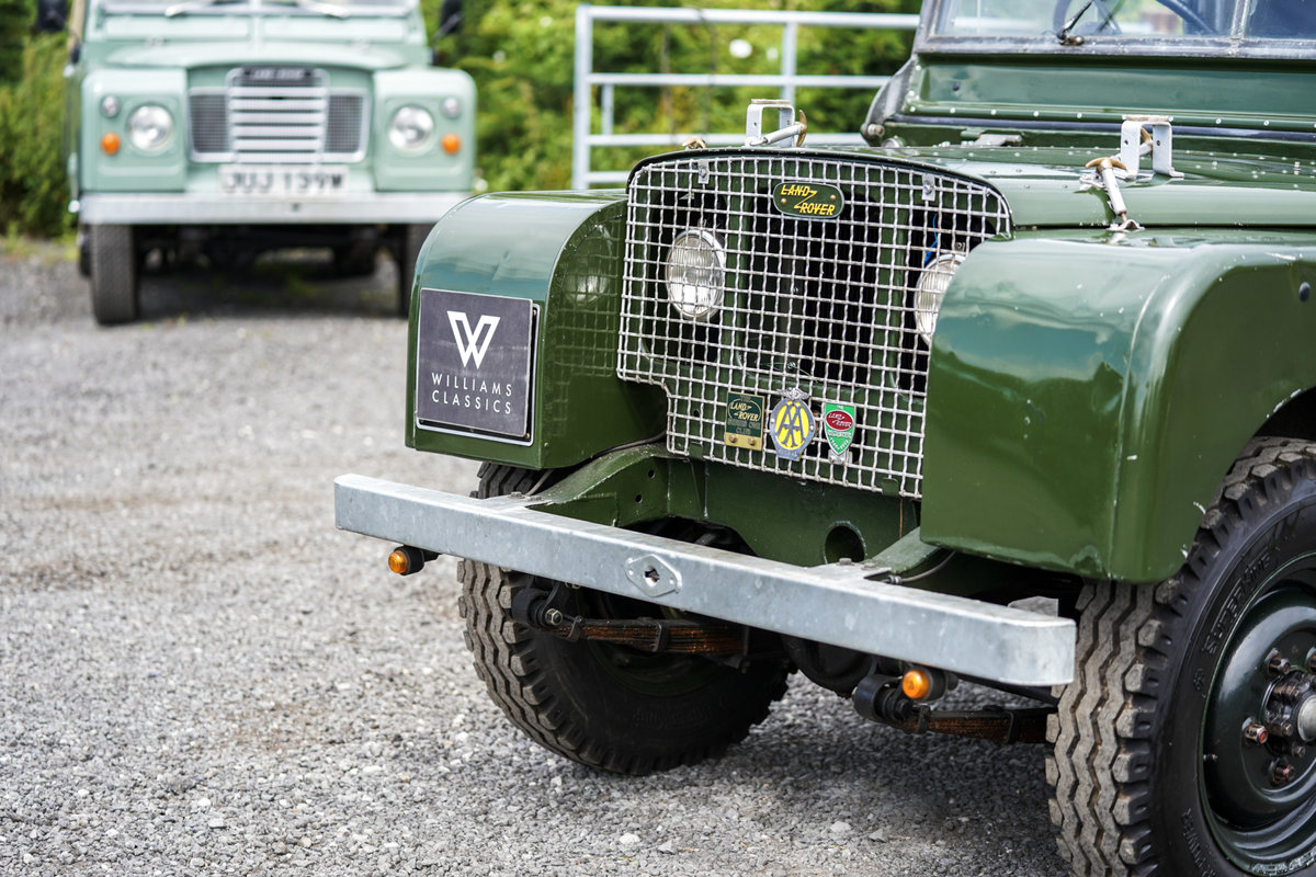 Land Rover Series 1 80 1950 Lights Behind the Grille  For Sale (picture 4 of 6)