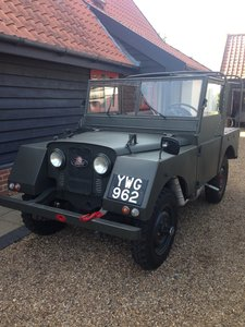 1952 Land Rover Minerva Series 1 in very good condition For Sale