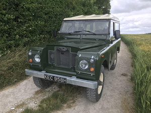 1970 Series 2a Land Rover - Petrol, Hard Top, SWB For Sale