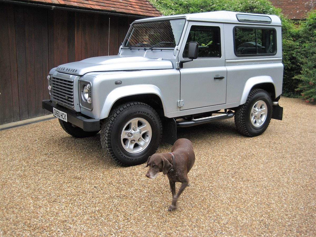 2010 Defender 90 2.4 TDI XS Just 12,000 Miles With 1 Owner For Sale (picture 1 of 6)