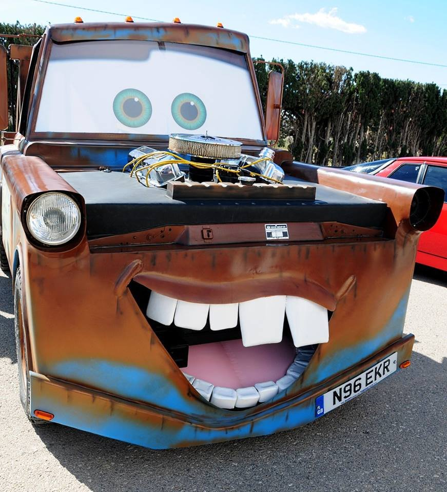1995 Land Rover Discovery Tow Mater Replica For Sale