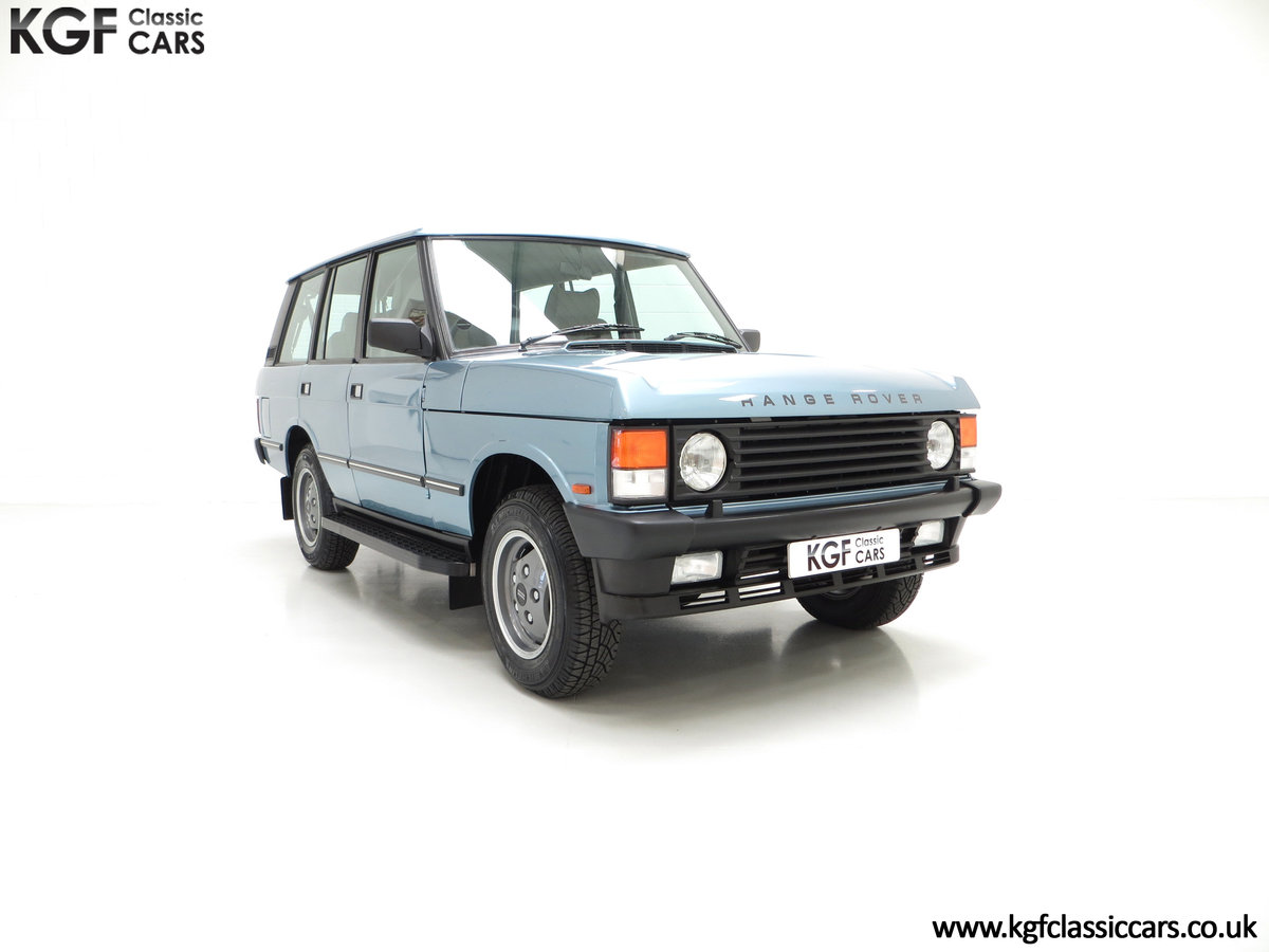 1988 An Outstanding Range Rover Classic Vogue Turbo D 15970 Miles For Sale (picture 1 of 6)