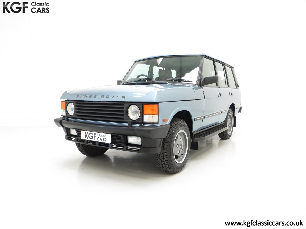 1988 An Outstanding Range Rover Classic Vogue Turbo D 15970 Miles For Sale (picture 2 of 6)